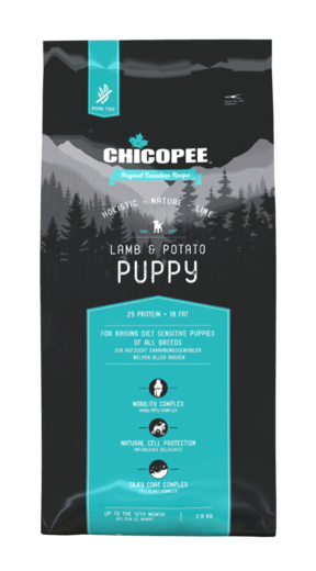 CHICOPEE HOLISTIC NATURE LINE LAMB & POTATO PUPPY PENNUILLE